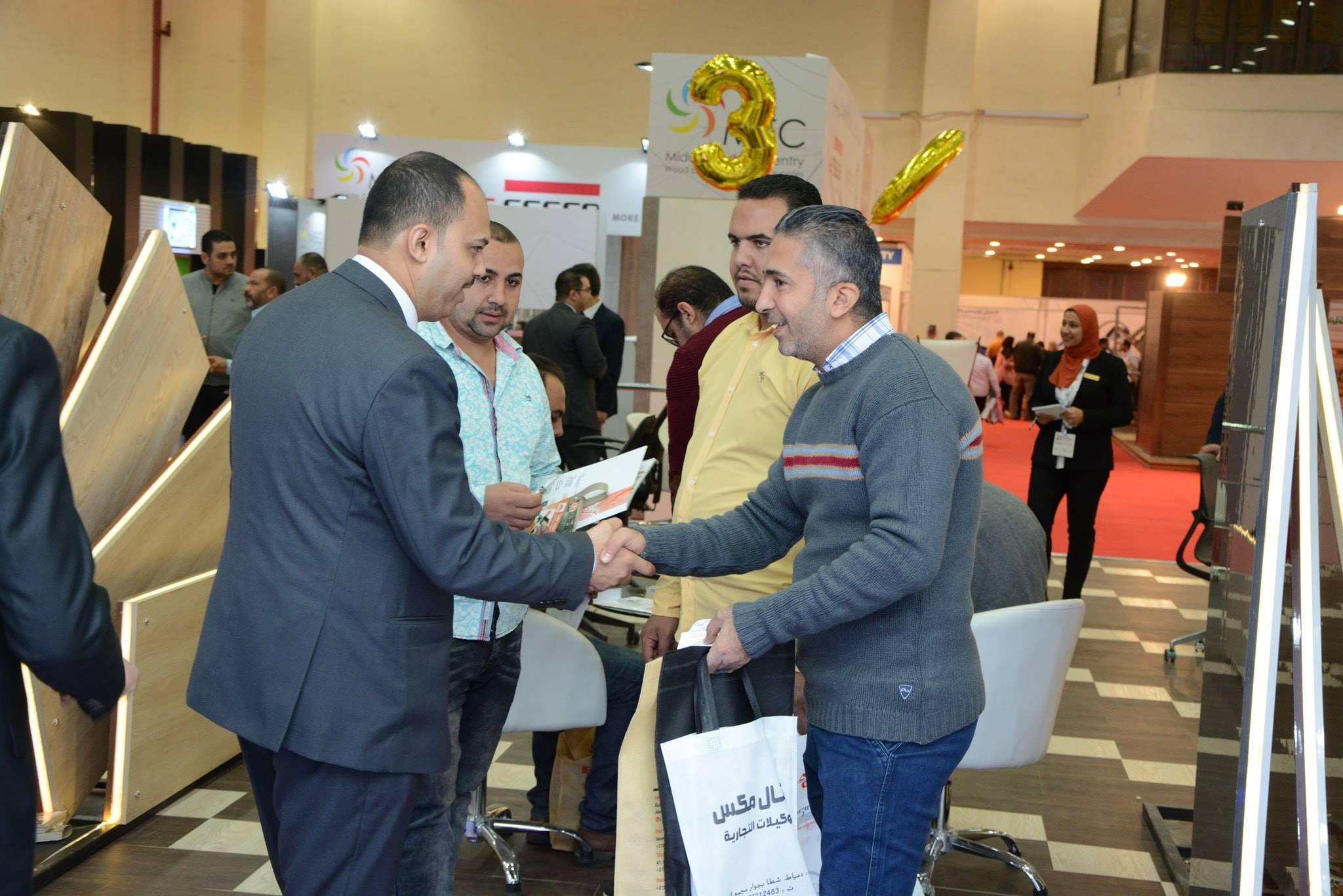 معرض القاهرة الدولي للاخشاب 2018 07