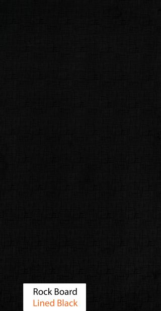 روك بورد ( Lined Black)